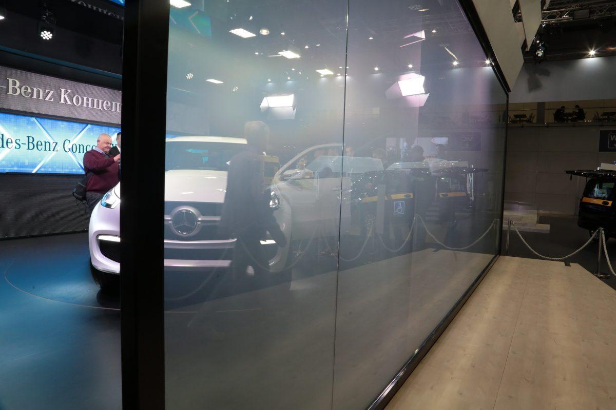 смарт стекло, проекционный экран